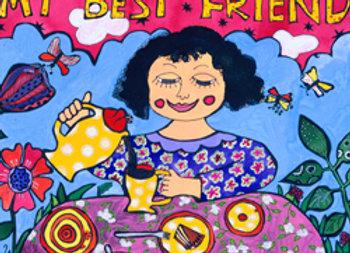 ''El café es mi mejor amigo''