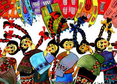 ''Nuestra ciudad sobre mujeres Mayas''