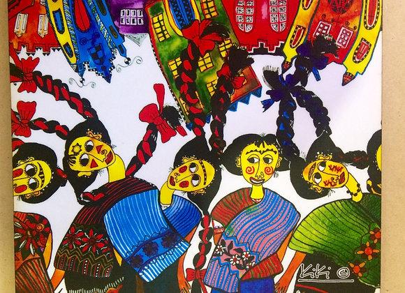 Mousepad Mujeres Mayas