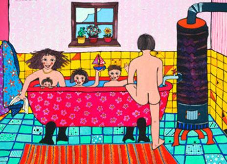 ''El baño familiar''