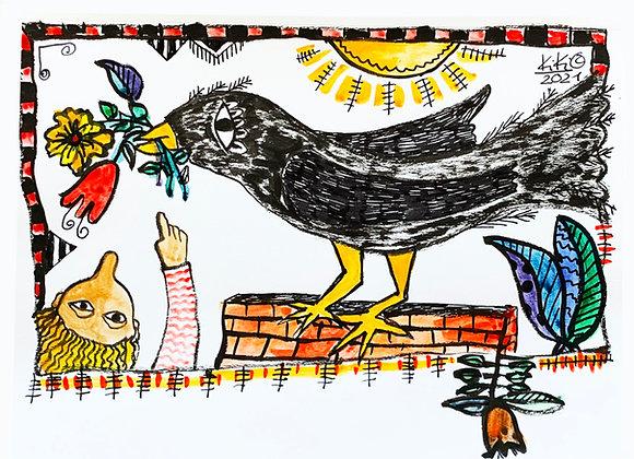 """""""El cuervo me trae regalos"""""""