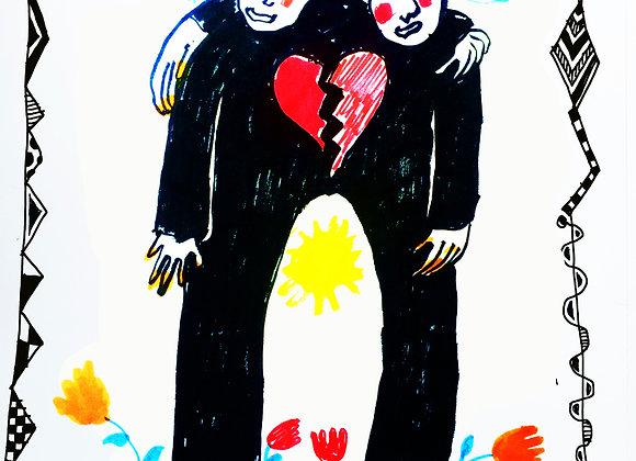 """""""En el amor nos apoyamos y sufrimos"""""""
