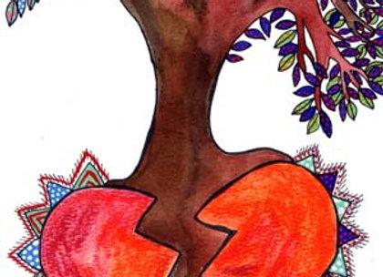 ''De un corazón roto sale vida''