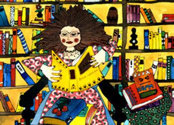 ''La mujer de los libros''