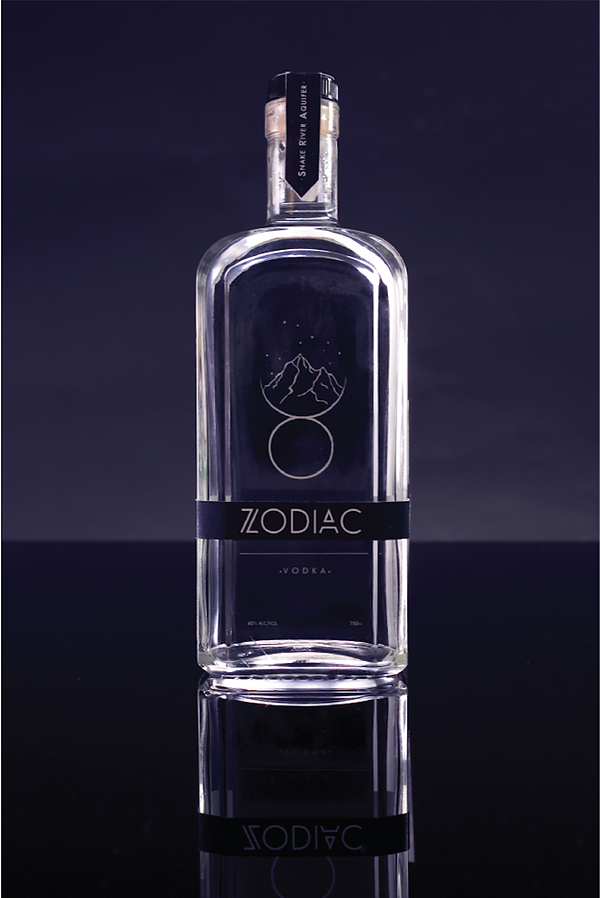 Zodiac Vodka Packaging