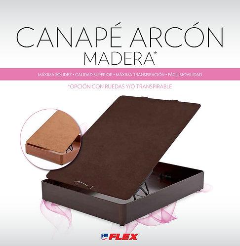 Arcón FLEX Mod. MADERA C/RUEDAS Y PATAS