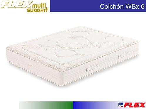 Colchón FLEX Mod. WBX 6 090 x 190