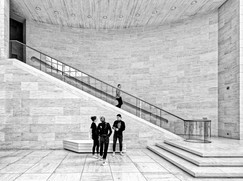 MONO: 'Museum Stairs' by William Allen - City of Belfast Photographic Society