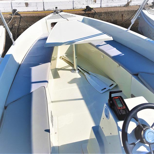 Intérieur SolarBoat
