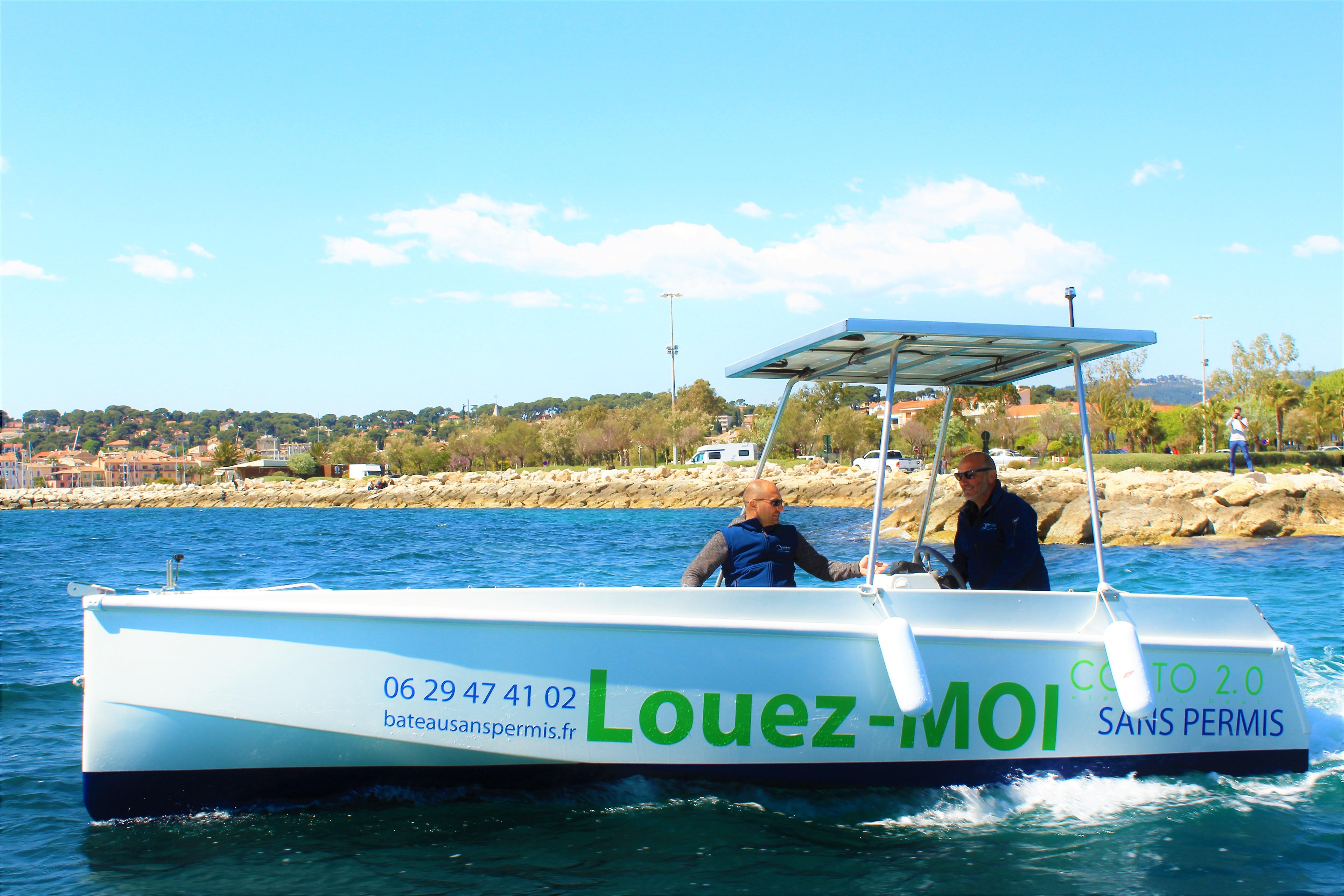 louez bateau sans permis à Sanary