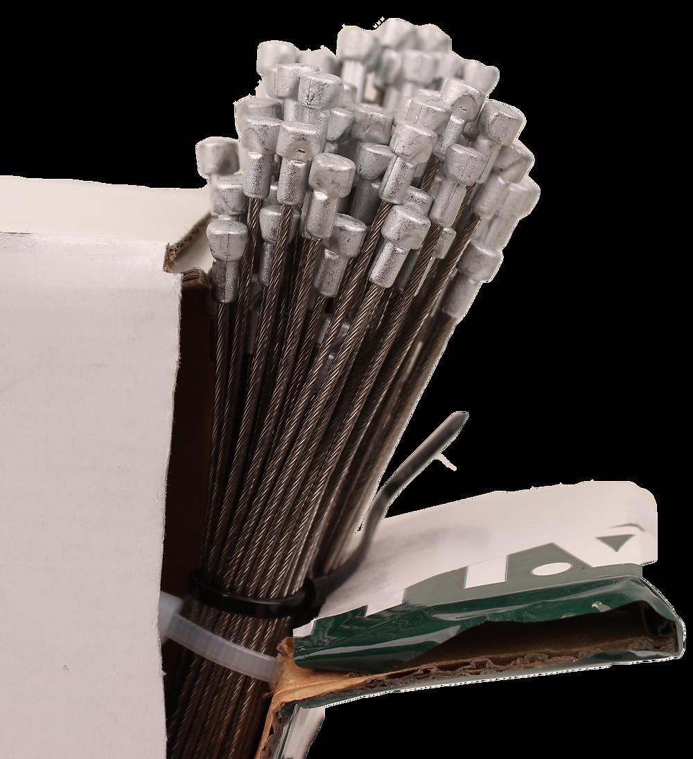 Bowdenzug Karton mit Birne