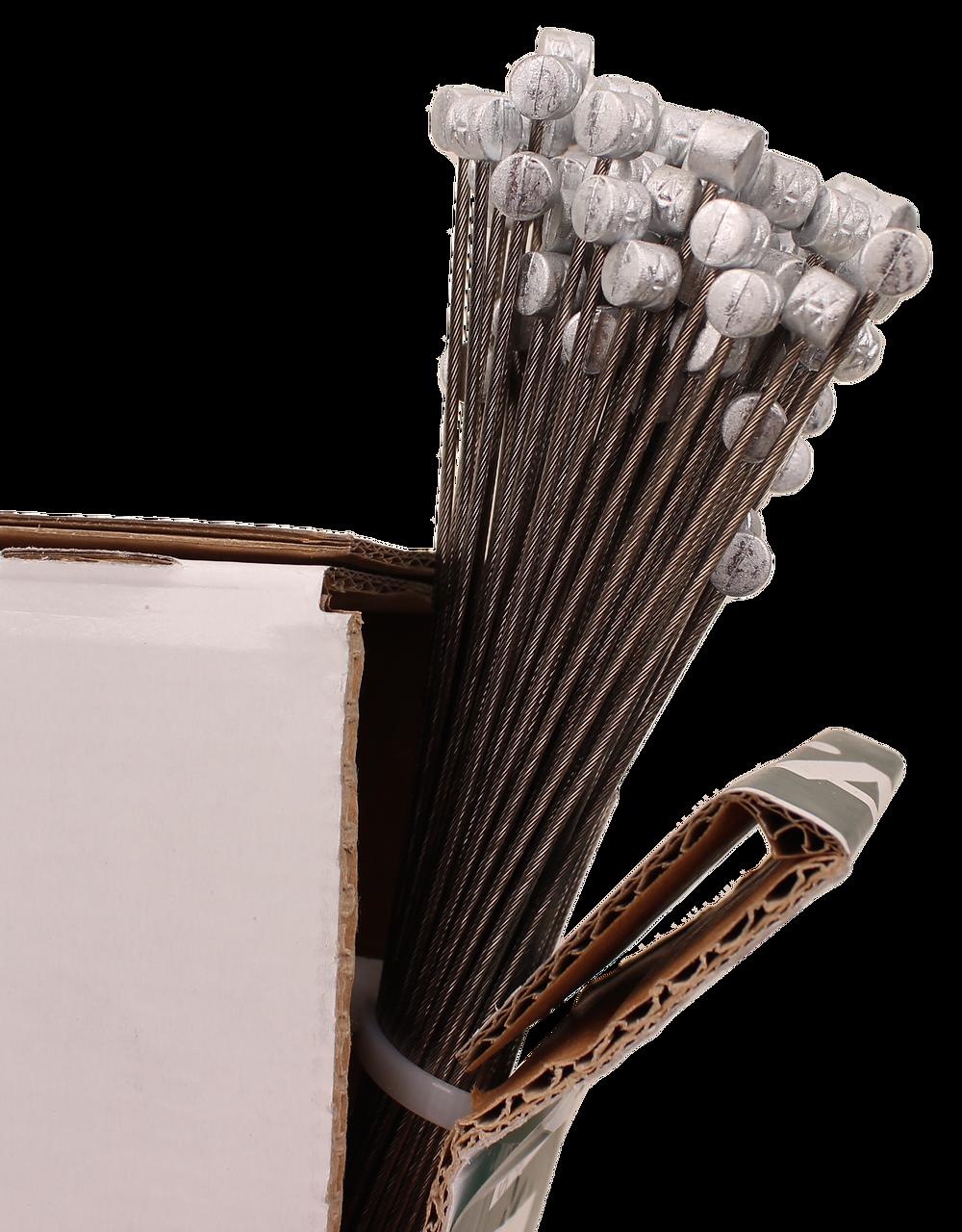 Bowdenzug Karton mit Tonne