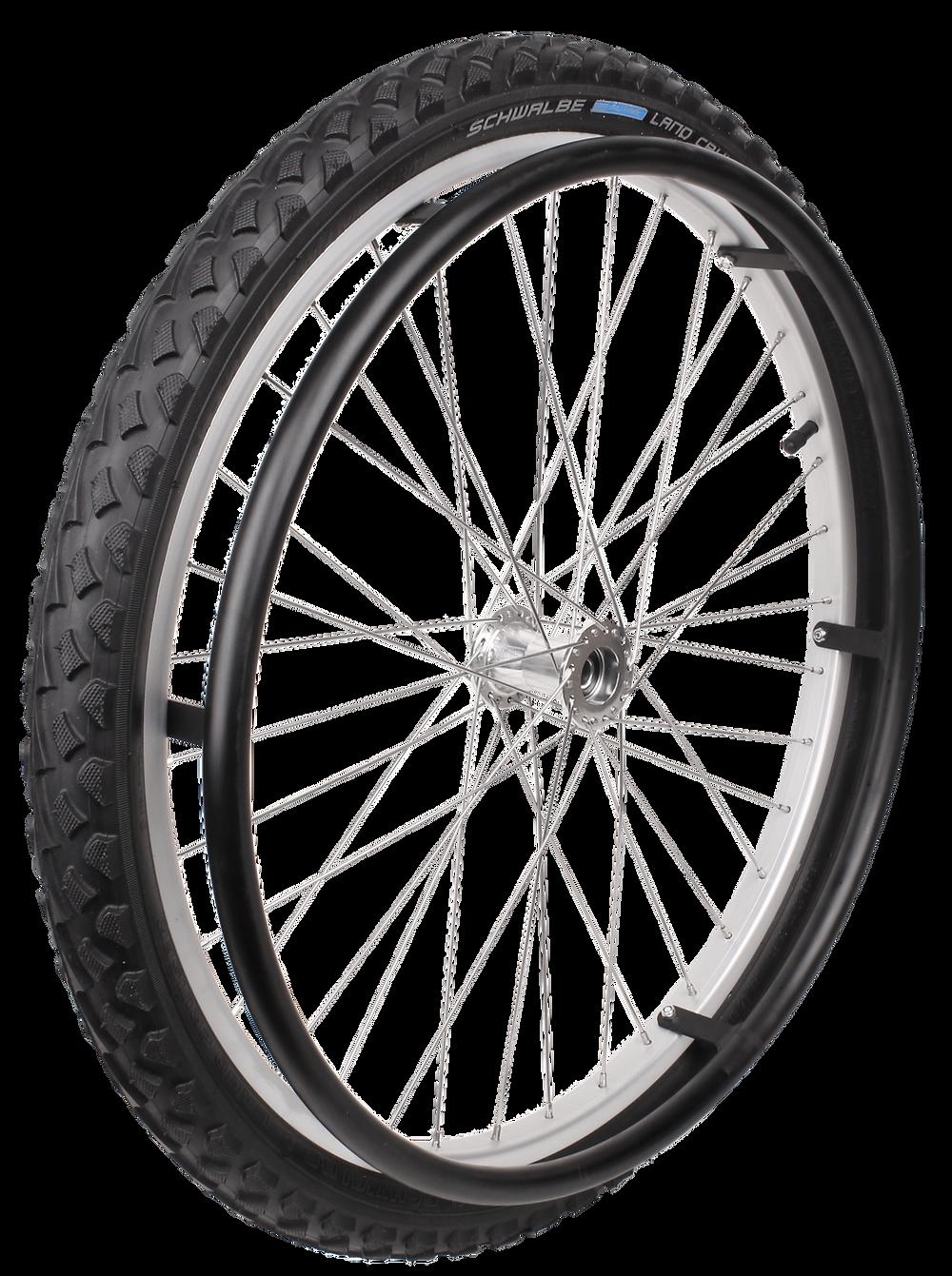 Outdoor Speichenrad mit Schwalbe Land Cruiser für Rollstühle