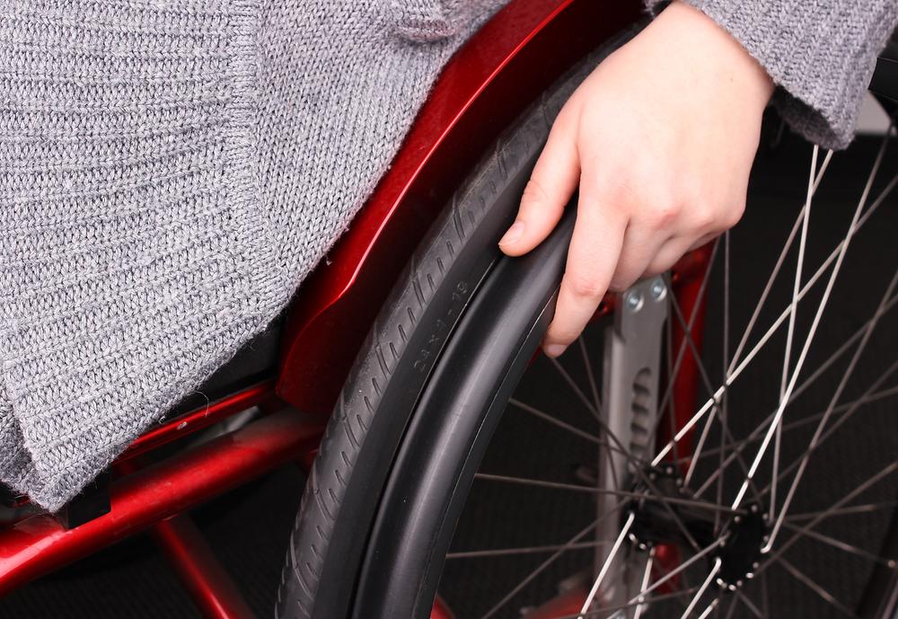 Rollstuhl-Greifreifen