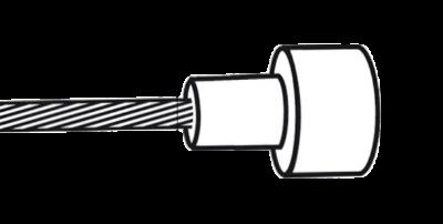 Bowdenzug Karton mit Birne Zeichnung Maße