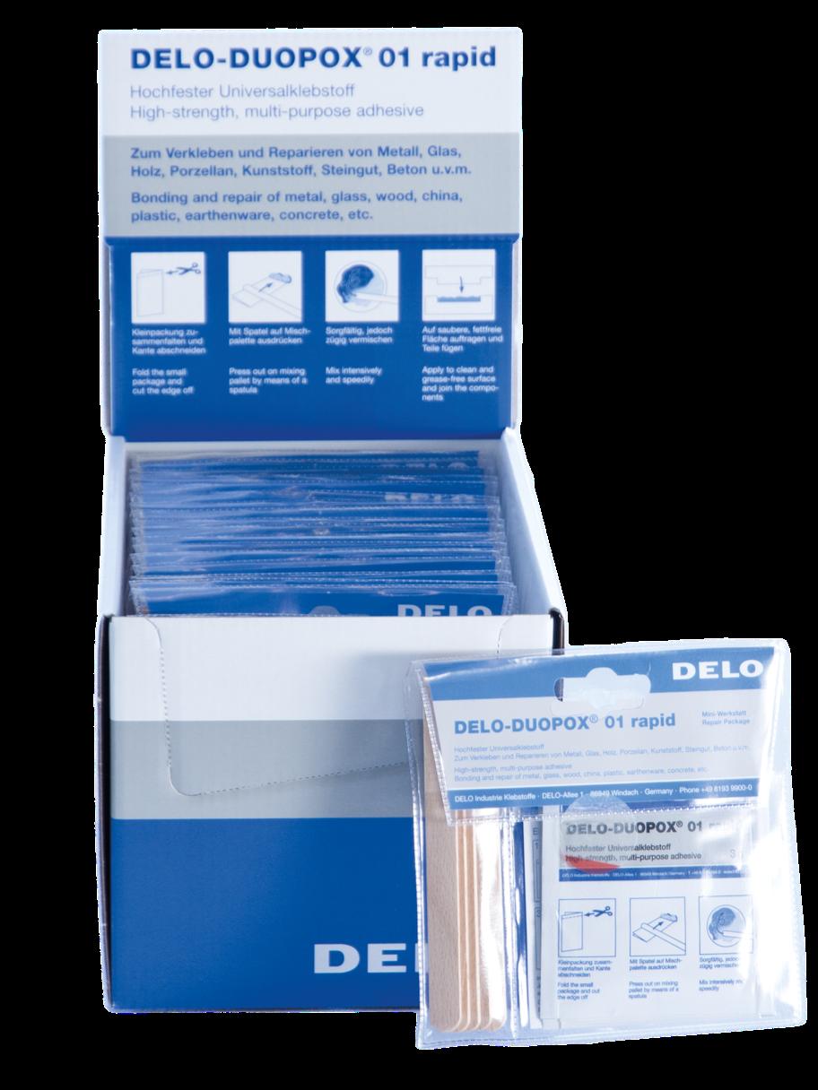 Universal adhesive Delo-Duopox rapid