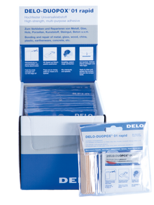 Universal adhesive in in package Delo-Duopox