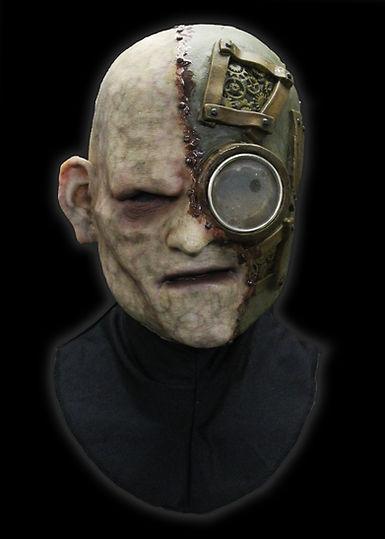 Gear Head Silicone Half Mask