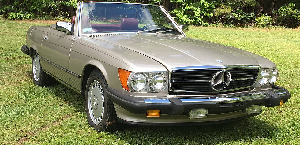 1988 Mercedes Benz 560 SL Roadster