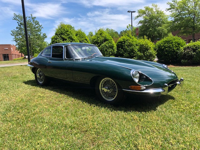 1968 Jaguar Fixed Head Coupe