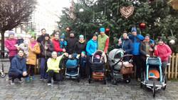 Štědroranní běh fitMAMI Pardubice
