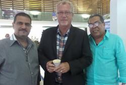 Con Anuar Saad y Jon Lee Anderson