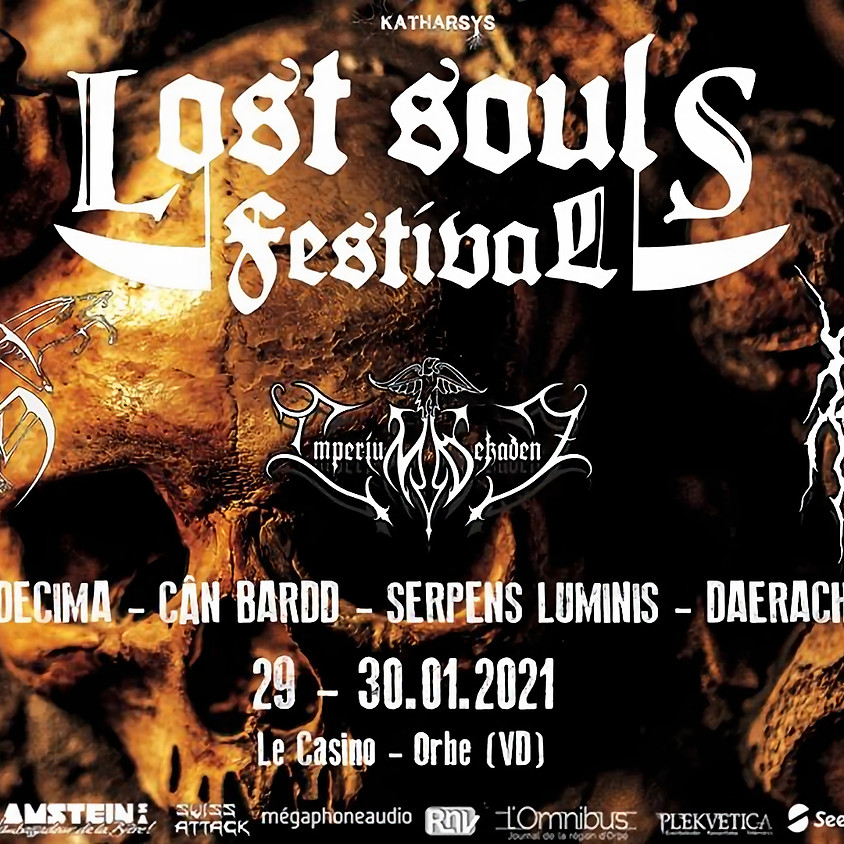 Lost Souls avec Borgne, Seth, Imperium Dekadenz and guests
