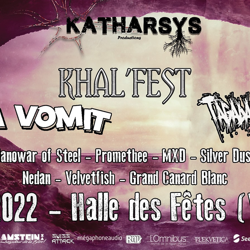 Khal'fest avec Ultra Vomit, Tagada Jones & 7 bands