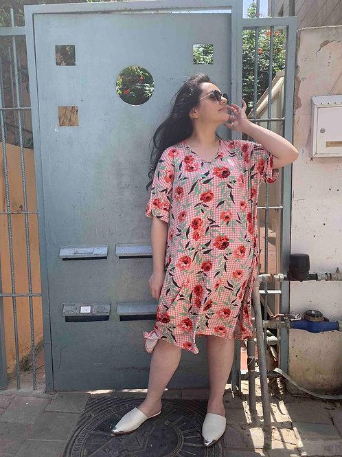 שמלת נאמבר וואן -פרחוני צבעוני