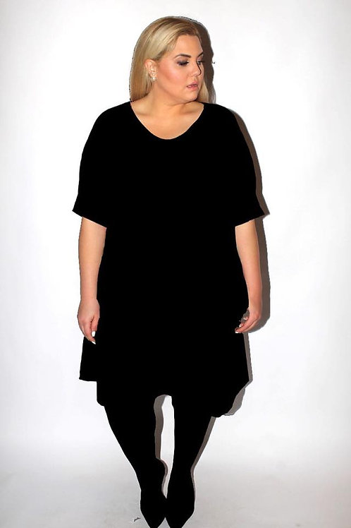 שמלת נאמבר וואן - שחור