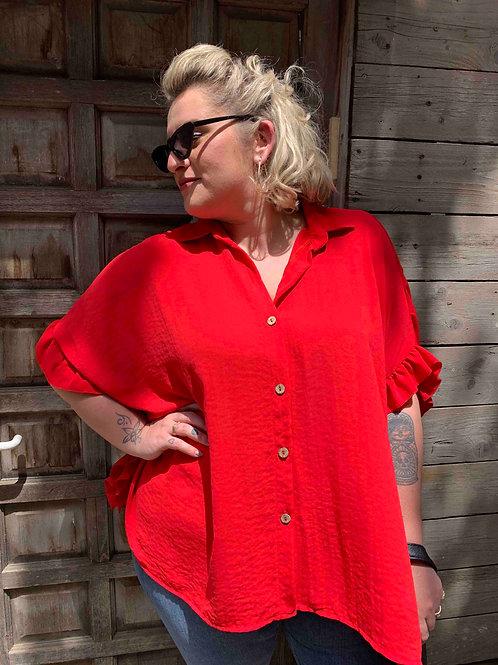 חולצת אייפל - אדום