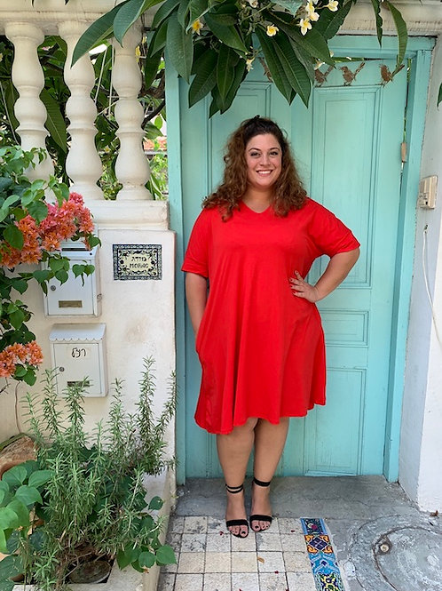 שמלת נאמבר וואן -אדום
