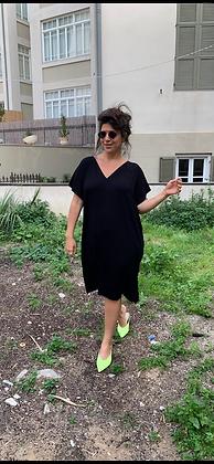 שמלת אלכוג׳ל מונאמור - שחור