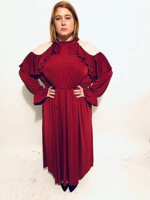שמלת מותק שלי - בורדו