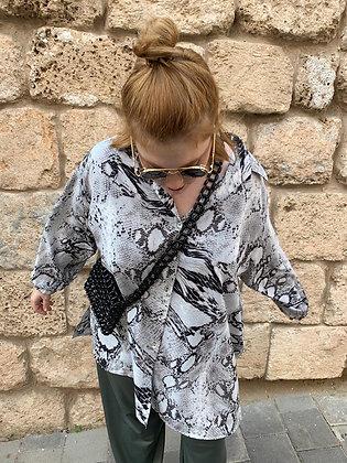 חולצת הגרושה מאיסטנבול - מנוחש אפור