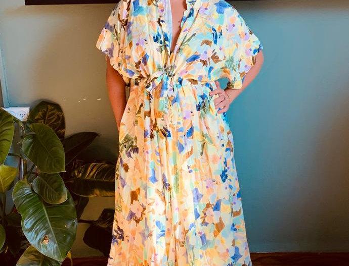 שמלת תראו אותה - צהוב לימונדה