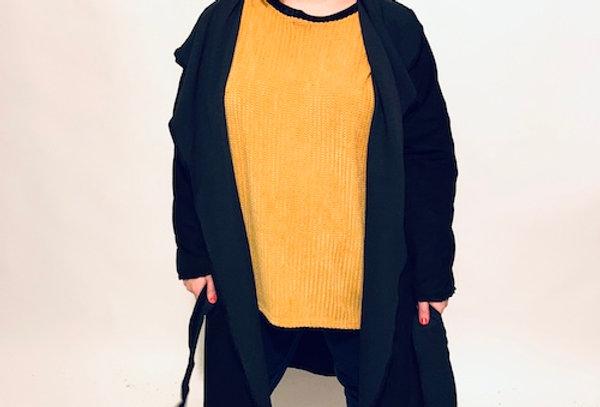 חולצת אובר דראפט - חרדל נעימי מימי