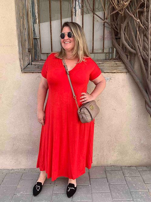 שמלת תכבסי לפעמים - אדום