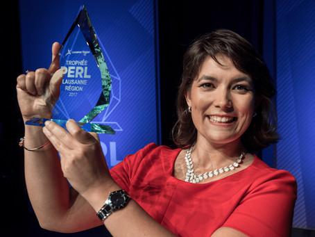 "Volumina Medical wins the ""Trophée PERL 2017"""