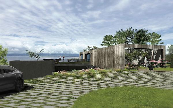 aba - architecture - maison contemporaine - atelier bregigeon architecte