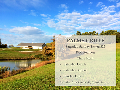 Palms Grille Ticket: Saturday-Sunday