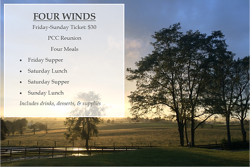 Four Winds Ticket: Friday-Sunday