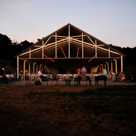 Sunset Pavilion at Dusk
