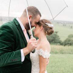 Burdette Knob in the Rain