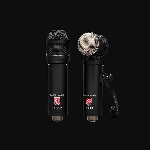 Lauten Audio Synergy Series microphones LS-208 and LS308.