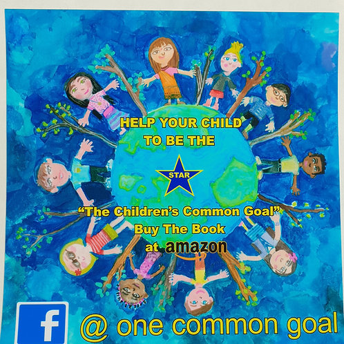 One common goal sticker
