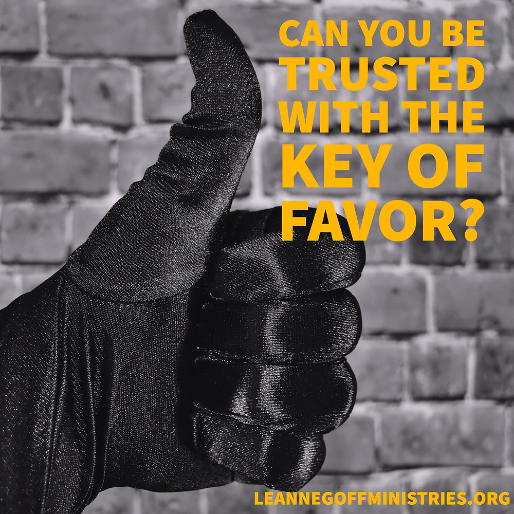 The Key of Favor