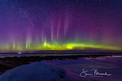 Aurora Borealis - March 13, 2021 - St. Jospeh Island
