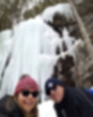 Love our adventures ice wall with dave.j