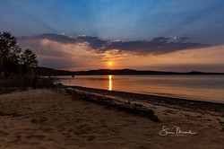 Lake Superior Sunset Sept. 21